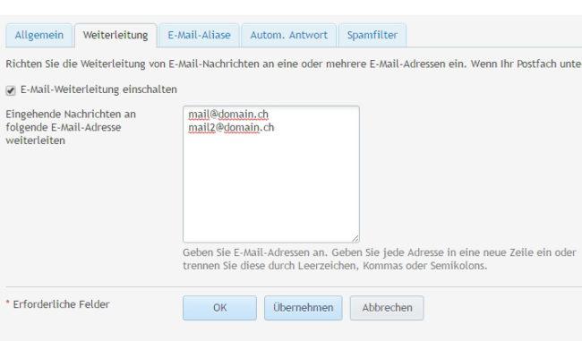 E-Mail Adresse erstellen mit Plesk